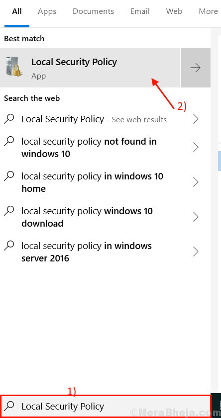 Local Security Policy