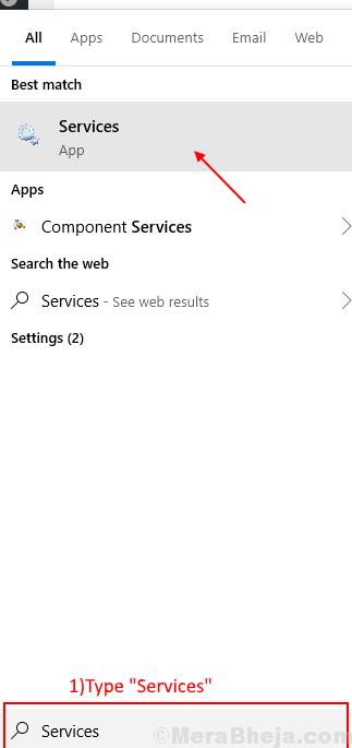 Services Start