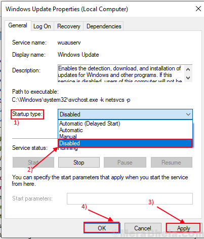 Windows Update Disable