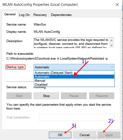 Fix WiFi is disconnecting frequently in Windows 10
