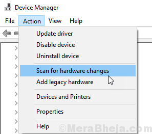 Action Scan Hardware Changes