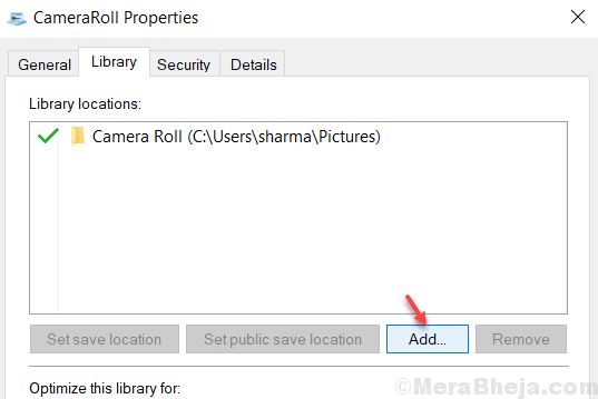 Add Camera Roll Folder