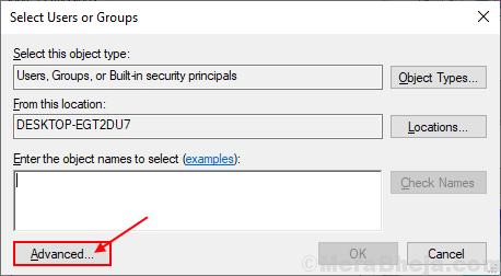 Add Select User Grp