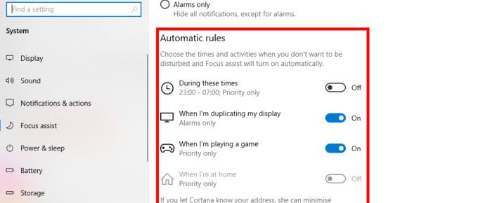 Automatic Rule