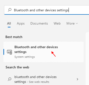 Bluetooth Devices Settings Min
