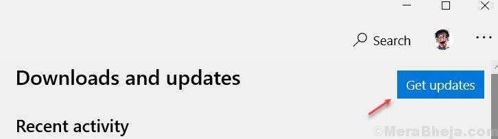 Get Updates Store