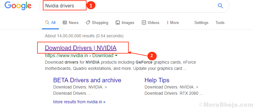 Google Nvidia Drivers