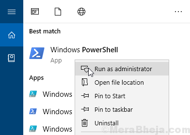 Powershell Run As Administrator