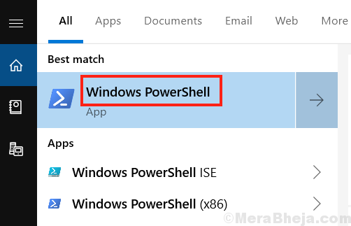 Powershell Search