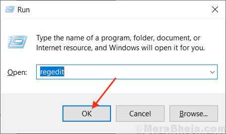 Fix:  Exe files not opening in Windows 10
