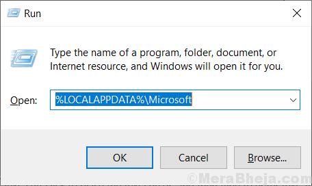 Run Microsoft