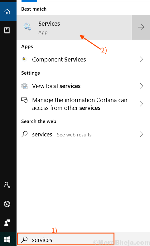Services Search