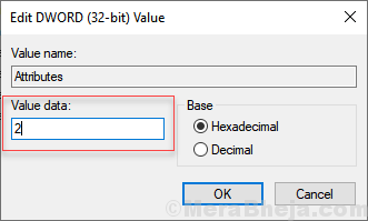 Value Data Attribute 2
