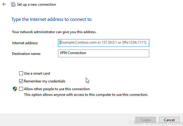 Vpn Connection