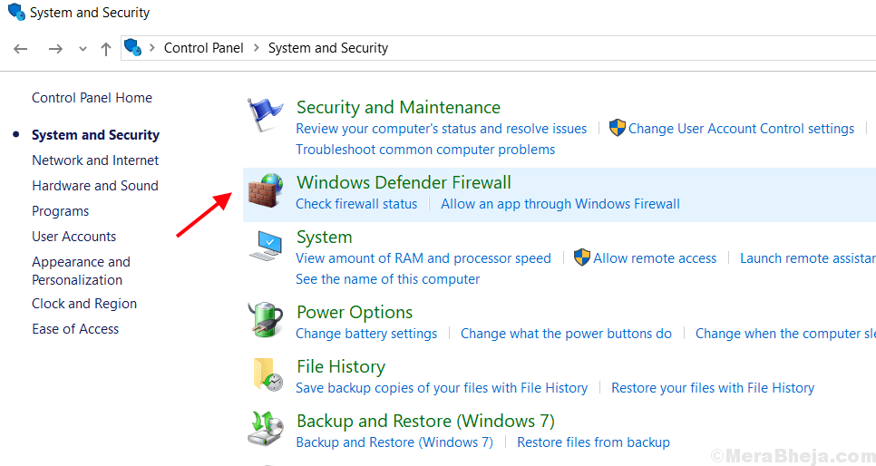 Windows Defender Firewall