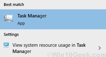 Task Manager Start