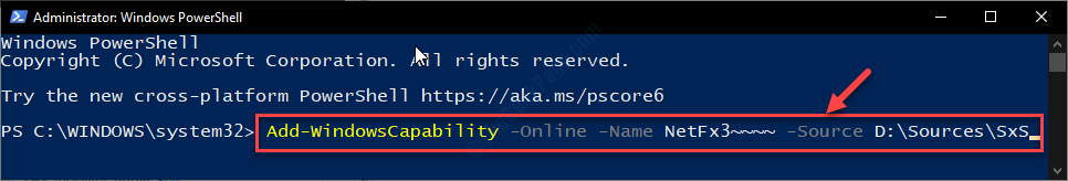 Add Powershell Online Name