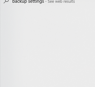 Backup Search