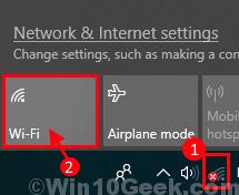 Enable Wifi