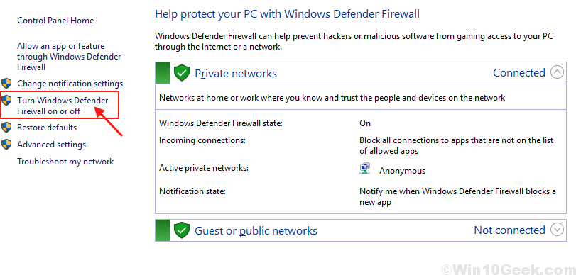 Firewall New