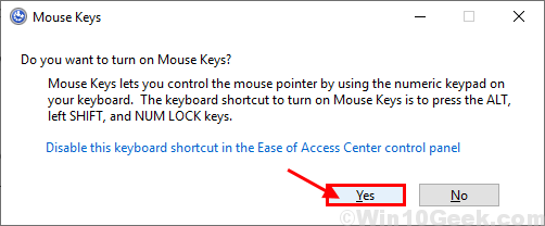 Mouse Keys