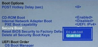 Secure Boot Disabled Min