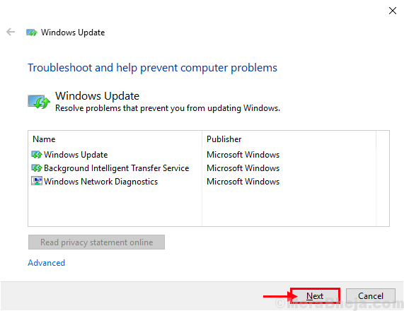 Windows Update Troubleshooter1