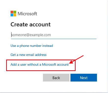 Add User Without A Ms Account