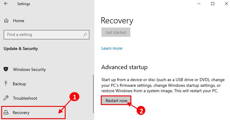 Advanced Startup