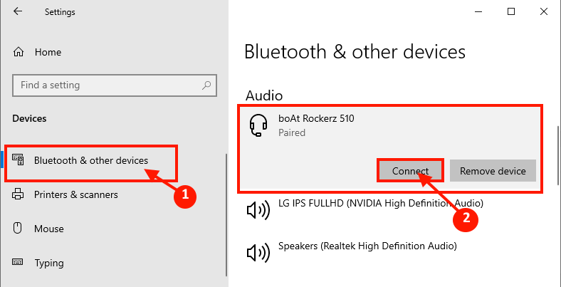 Bluettoth Pairing