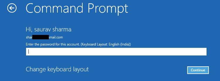 Command Account