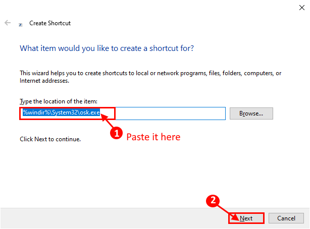 Next Shortcut