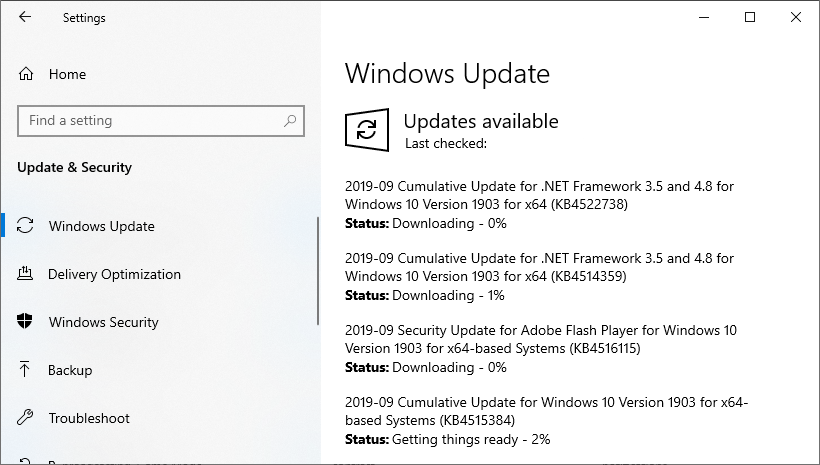 Windows Update2