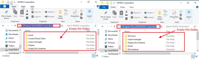 Nvidia Folders