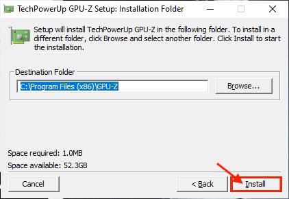 Gpu Z Install