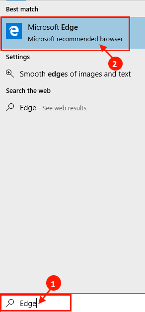 Edge Search