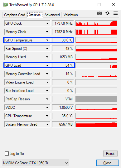 Gpu Temp On Load