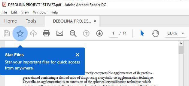 Open Adobe Reader