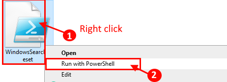 Powershell Run With