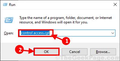 Control Access