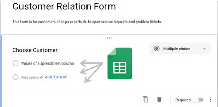 Customer Relationship Form