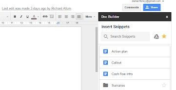Docs Builder Add On Google Docs