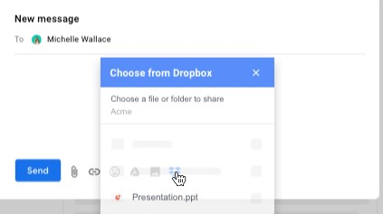 Dropbox Extension