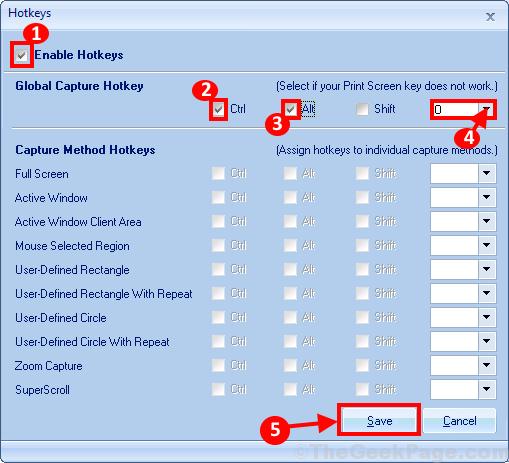 Enable Hot Keys