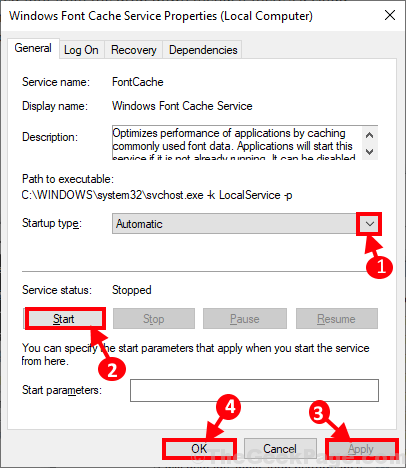 Font Cache Enable Again