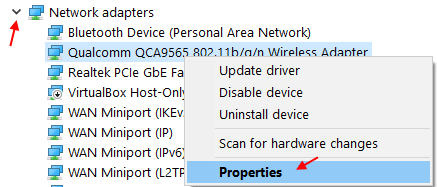 Network Properties Min