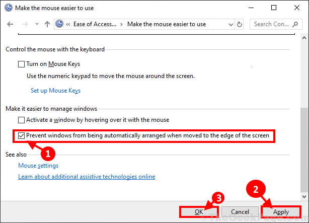 Prevent Windows From Being Automatically