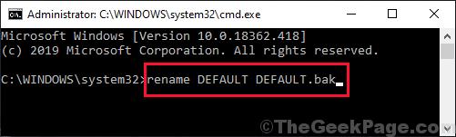 Rename Default Backup