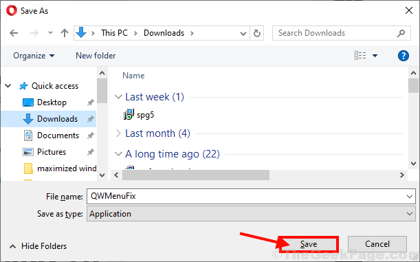 Save Qwmenufix Tool