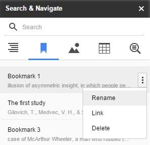 Search Navigate